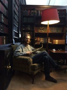 Tom at Portico Library 2016